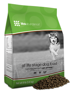 Life's Abundance Premium All Life Stage Dog Food For Lab Puppies