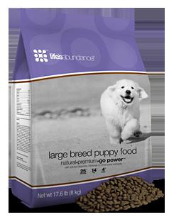 Life's Abundance Premium Puppy Food for Labrador Puppies